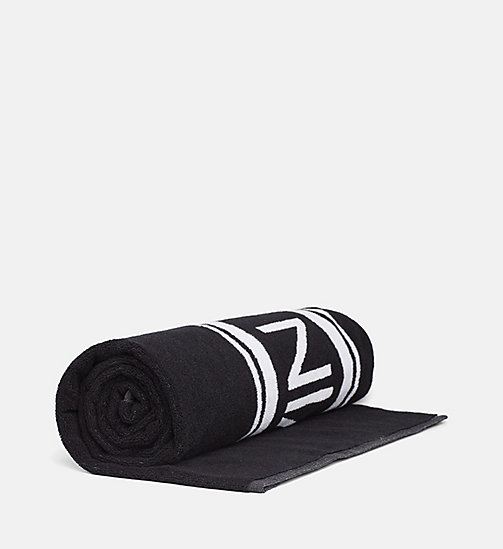 CALVIN KLEIN Beach Towel - PVH BLACK - CALVIN KLEIN NEW IN - detail image 1