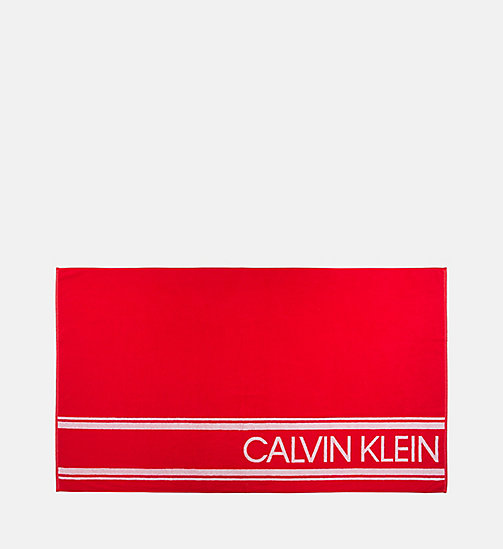 CALVIN KLEIN Beach Towel - BITTERSWEET - CALVIN KLEIN NEW IN - main image