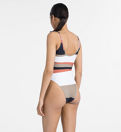 CALVIN KLEIN Swimsuit - Core Neo - DESERT PRINT - CALVIN KLEIN NEW FOR WOMEN - detail image 1