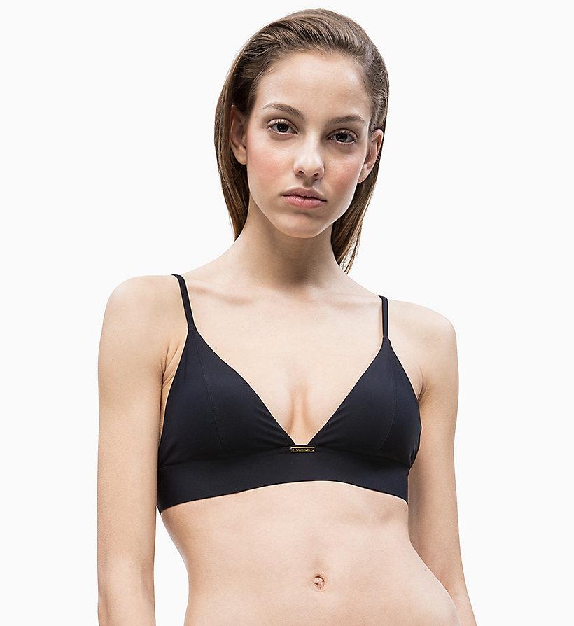 cd456eaccf9ce Triangle Bikini Top - Core Solids Calvin Klein®