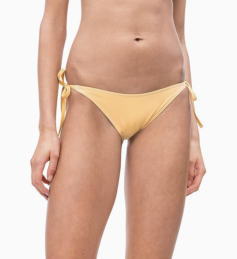 4201287ae52ca Tie Side Bikini Bottom - CK Retro Calvin Klein®
